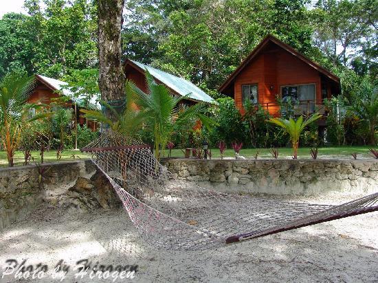 Dolphin Bay Resort & Peleliu Divers : Bungalows