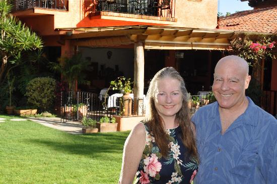 Jardin Restaurant: Marci & Bruce