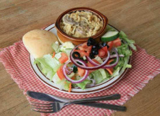 My Just Desserts: Casserole with Salad