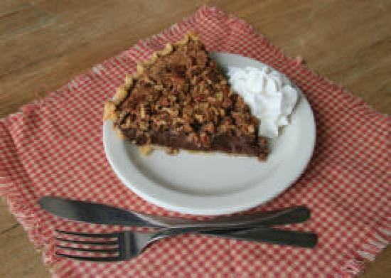 My Just Desserts: Mrs. Ledbetter's Chocolate Pie - Our Signature Pie
