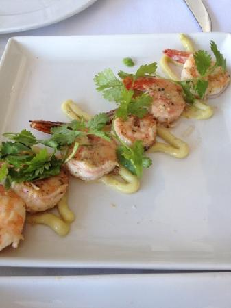 Cafe 1999 : Garlic lime shrimp