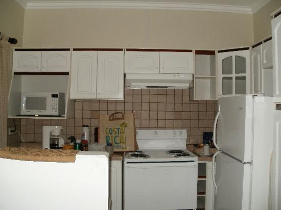 Casa Conde Hotel & Suites: cocina