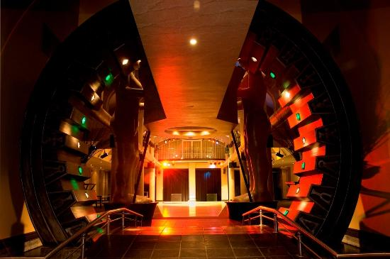 The Pyramid Conference & Venue Centre: The Stargate - Entrance to The Great Hall.