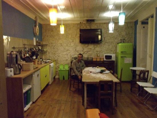 Alface Hostel Lisboa: Dinong room
