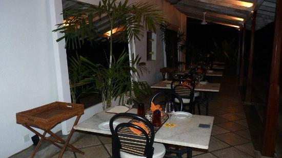 The Kandy House: Veranda / Restaurantterrasse