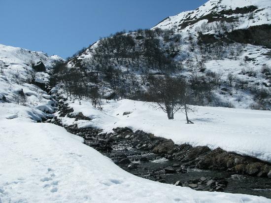 Hotel les Bruyeres: lieu de promenade et ski de fond (site protégé)