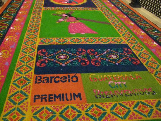 Barcelo Guatemala City : Bella alfombra