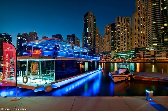 Exterior Of The Dinner Cruise Picture Of Xclusive Cruise Dubai Tripadvisor