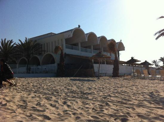 Club Marmara Narjess : Travaux sur batiment de plage