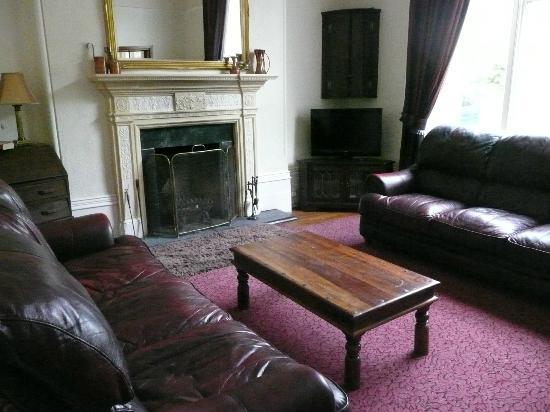 The unused lounge
