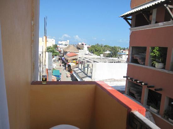 Hotel Bucaneros Suites Balcony Of Room 202 Looking North