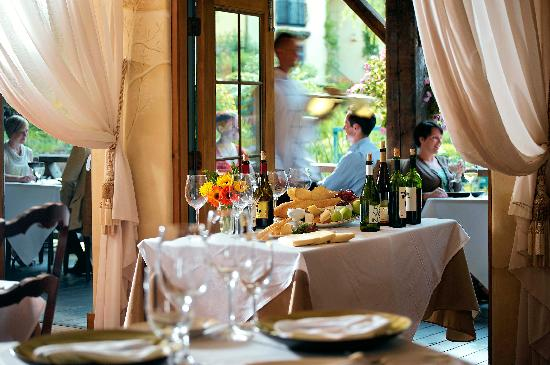 The Dining Room at Mirbeau Inn & Spa: Farm to Table Dining