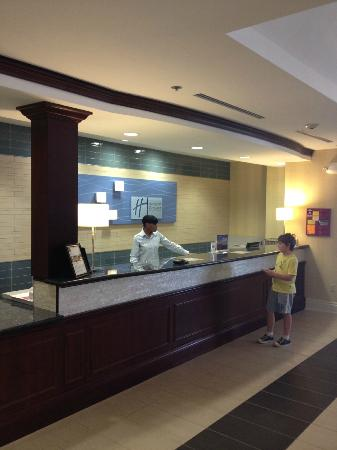 Holiday Inn Express Hotel & Suites Ft Lauderdale - Plantation: Empfang