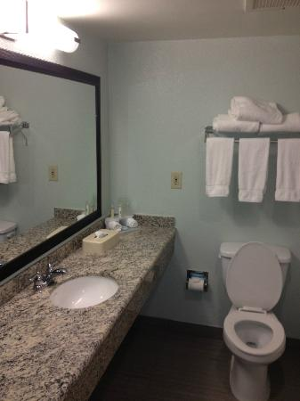 Holiday Inn Express Hotel & Suites Ft Lauderdale - Plantation: Badezimmer/WC