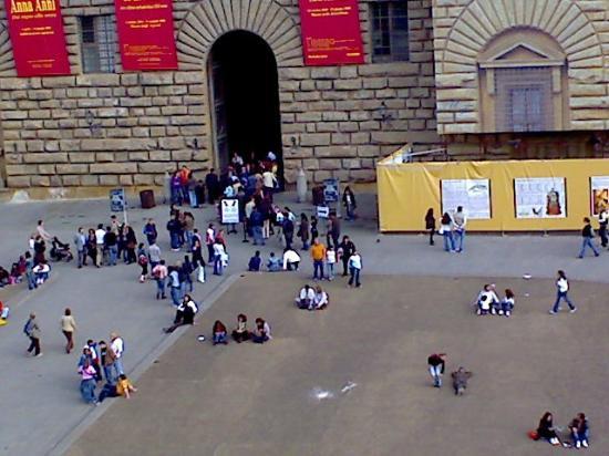 Soggiorno Pitti: ingresso palazzo pitti