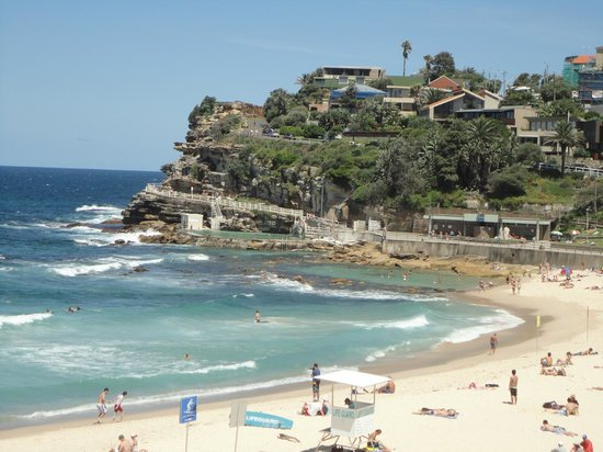 Bondi to Coogee Beach Coastal Walk: Bondi coastal walk