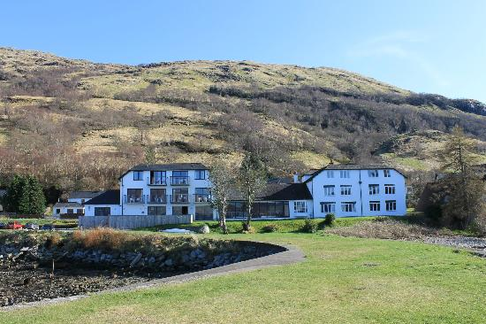 View Of Hotel From The Pier Picture Of Holly Tree Hotel Kentallen Tripadvisor