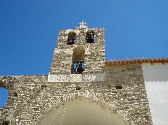 Moni Vronta: Belltower of the monastery