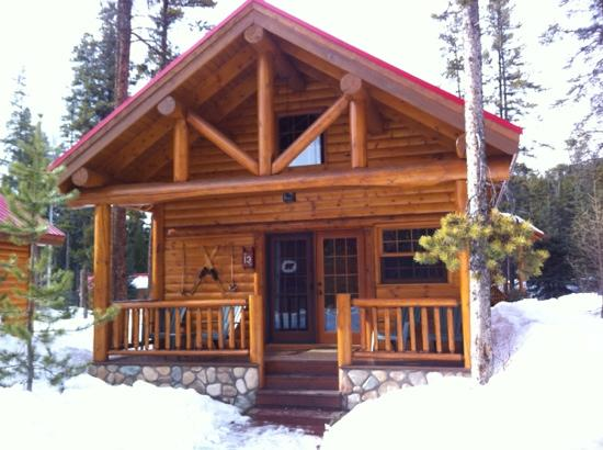One bedroom cabin with loft picture of baker creek for Lake cabin plans loft