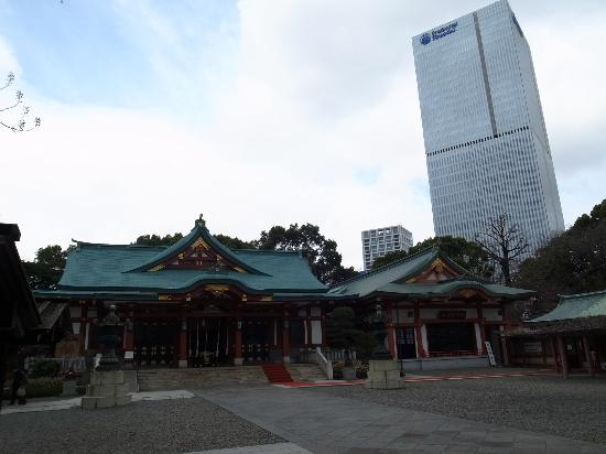 日枝神社, 本殿