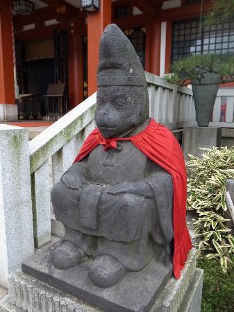 日枝神社, 神猿像
