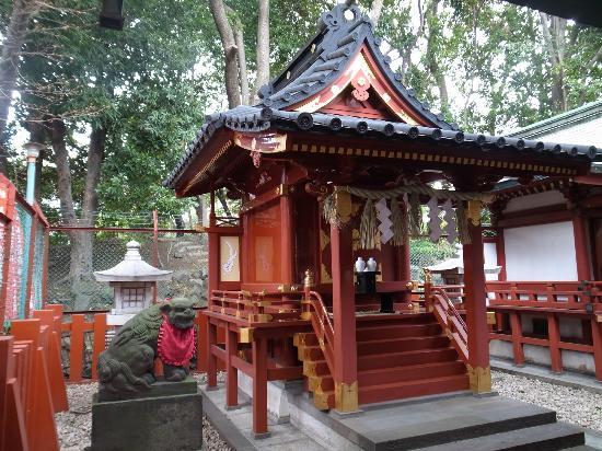日枝神社, 末社裏