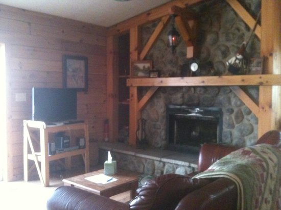 Springwood Cabins: Living Room