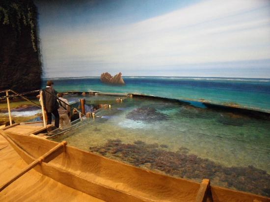 Klimahaus Bremerhaven 8° Ost: Auf Samoa kann man in ein Korallenriff gehen.