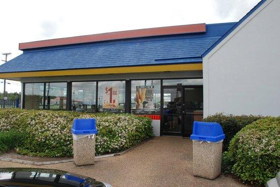 Burger King Entrance