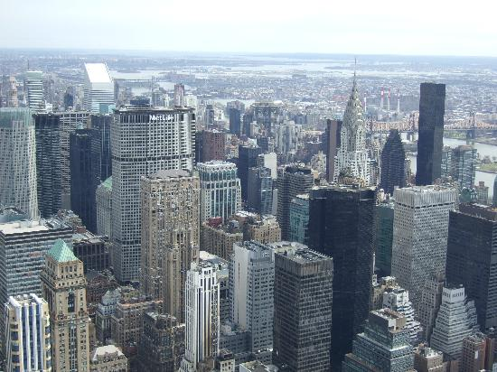 View from 86th level to the 102nd floor picture of for 102nd floor empire state building