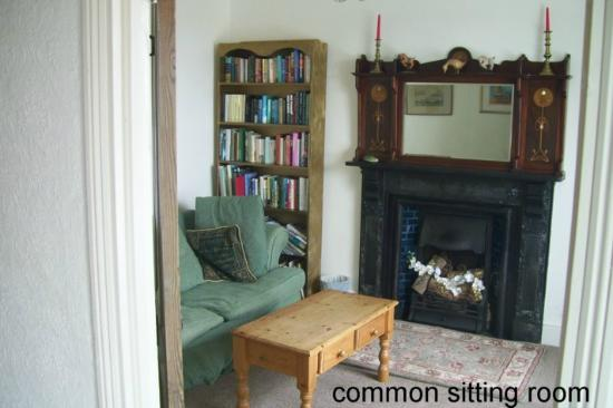 Tremynydd Fach Farm: Common sitting room