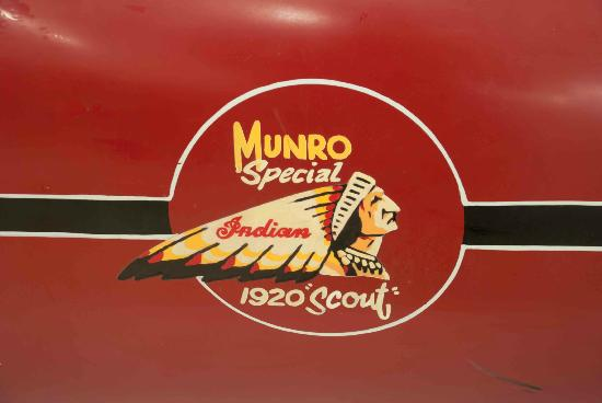 E Hayes and Sons - The World's Fastest Indian: See the Munro Special!