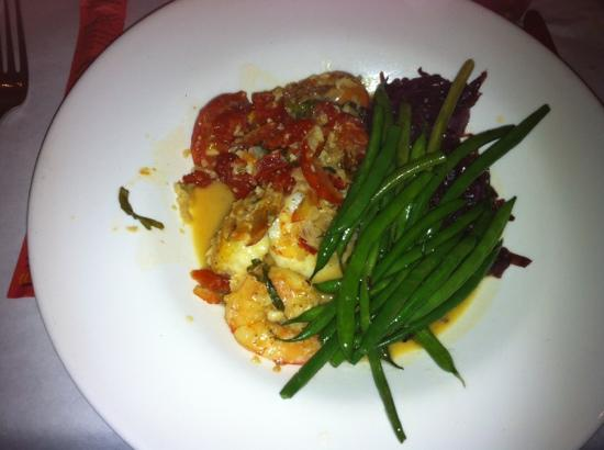 South Beach Grille: Shrimp scampi Ummy