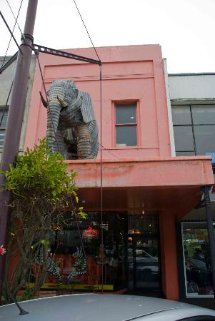 Zookeepers Cafe : Look out for the big elephant