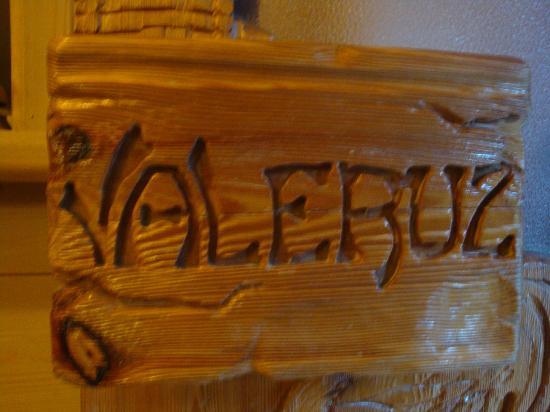 Hotel Chalet Valeruz: Ingresso