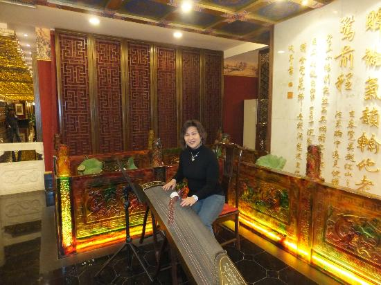 Inner Mongolia Grand Hotel : Hangzhou restaurant at level 4-very expensive deco