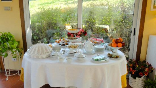 Marignolle Relais & Charme: Buffet colazione