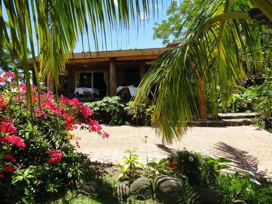 Pension Chez Tita et Lionel: jardin frontal