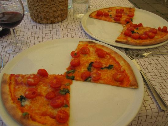 Il Refolo: nice thin crust pizza