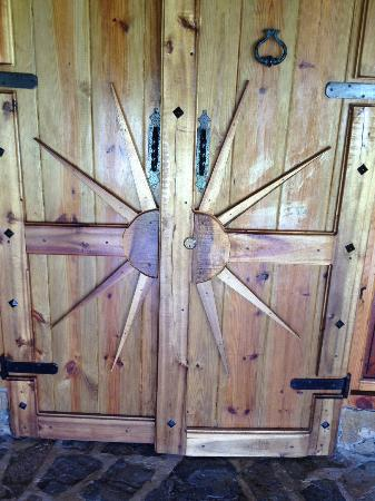 Chalet Tropical Village: front door of chalet