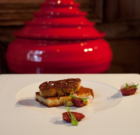 Dining Room - Rocky's Boutique Resort Koh Samui : Foie Gras