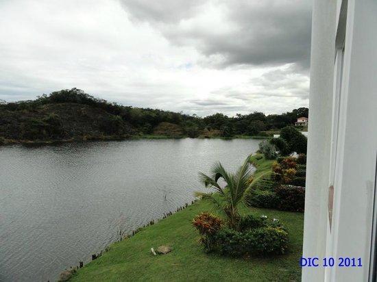 Hotel Vista Lago Ecoresort: Vista desde la habitación
