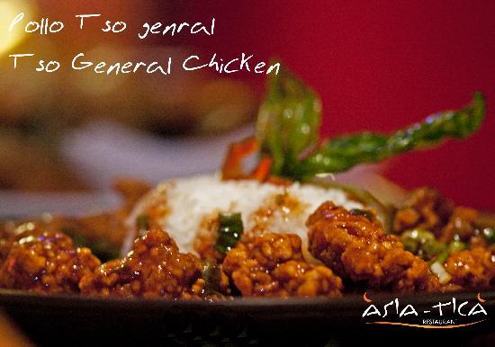 Asia Tica Coco : Tso General Chicken