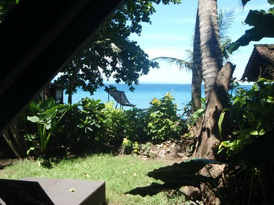 Lumbung Damuh: View from room to the sea