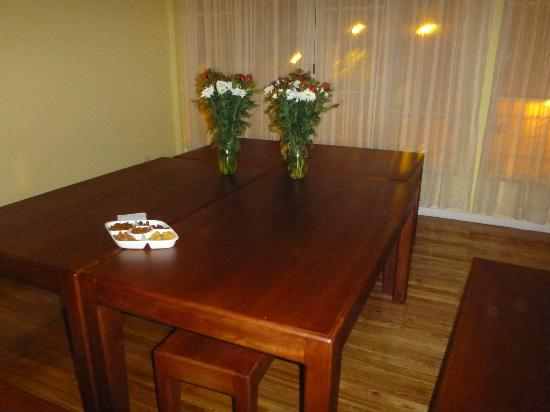 Community Hostel: Dining Table