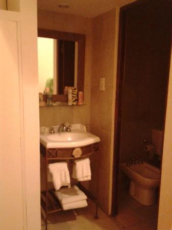 Hotel Refugio Del Inca: Baño
