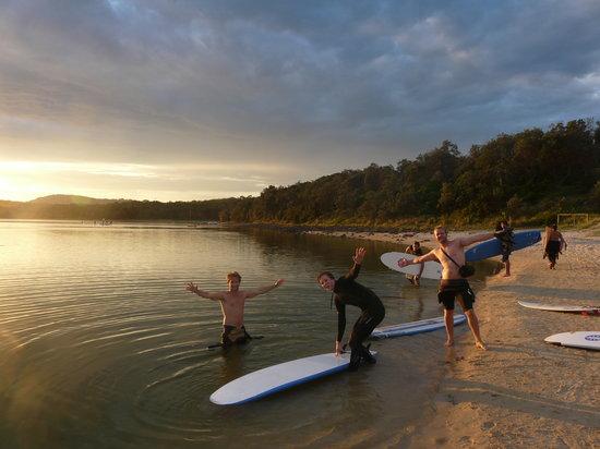 Australian Surf Tours: Sunset Swim