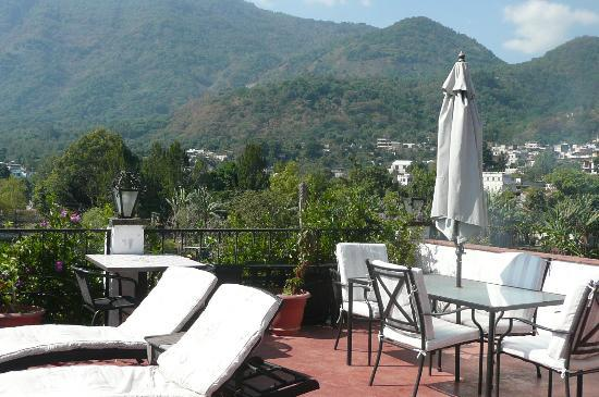 Mikaso Hotel Resto: View from rooftop deck