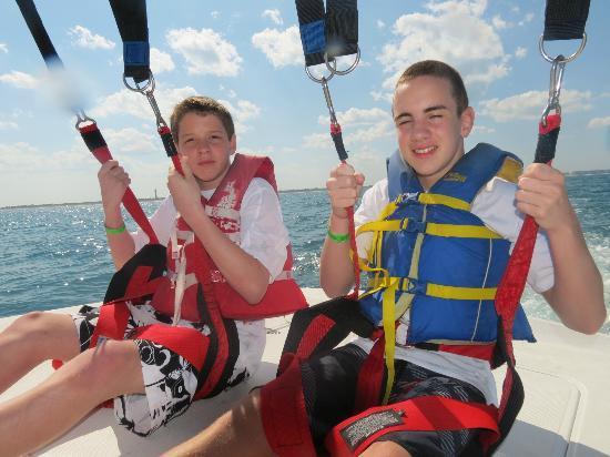 Parasailing At Daytona Beach Paasail Ponce Inlet Watersports