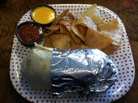 Cabo Taco Mexicali Grill: Datil Pepper Steak Burrito!